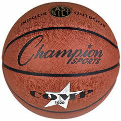 Champion Sports Official Size Composite Basketball