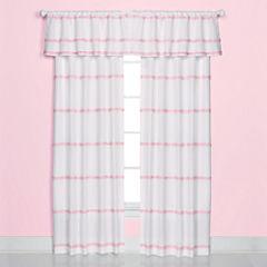 Saturday Knight Confetti Dot Rod-Pocket Curtain Panel