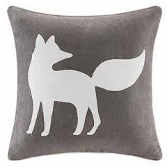 Madison Park Fox Square Throw Pillow