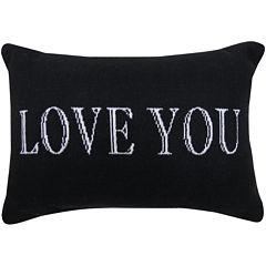 Park B. Smith® Love You Writing Decorative Pillow