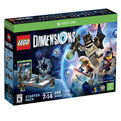 Lego Dims Starter Pack Video Game-XBox One