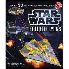 Star Wars Folded Starfighters Flyers