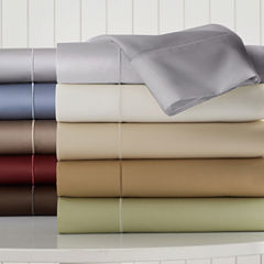 Royal Velvet® 400tc WrinkleGuard™ Sheet Sets and Pillowcases