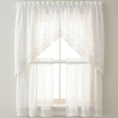 Crochet Kitchen Curtains