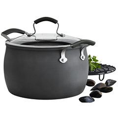 Epicurious® 8-qt. Hard-Anodized Dutch Oven with Meat Rack