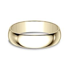Mens 14K Gold Wedding Band