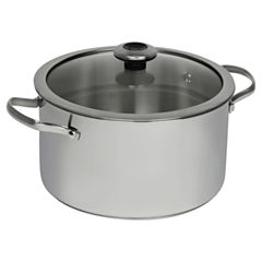 Revere Copper Confidence Core Stainless Steel 6.5 Qt. Stock Pot With Lid