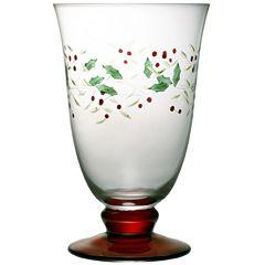 Pfaltzgraff® Winterberry Set of 4 Iced Beverage Goblets