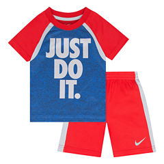 Nike 2-pc. Short Set Toddler Boys