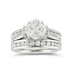Harmony Eternally in Love 2 CT. T.W. Certified Diamond Bridal Set