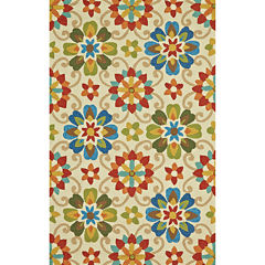 Feizy Rugs® Margherita Indoor/Outdoor Rectangular Rug