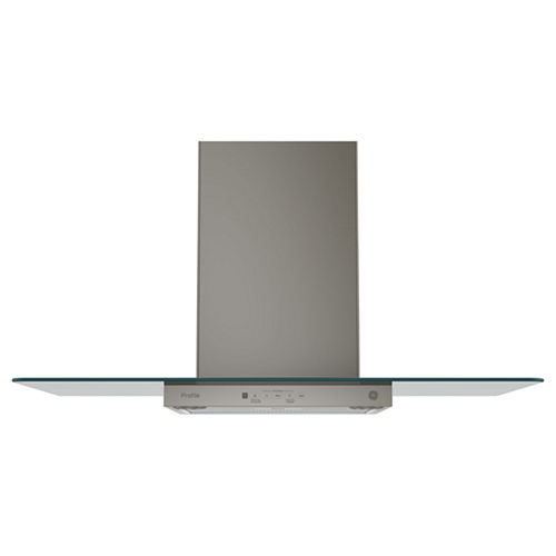 GE Profile™ 36 Wall-Mount Chimney Range Hood With Glass Canopy