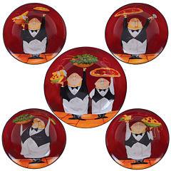 Certified International Waiters 5-pc. Pasta Bowl Serving Set