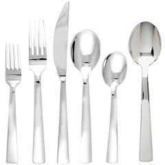 Ginkgo® Burton 42-pc. 18/10 Stainless Steel Flatware Set