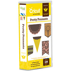 Cricut® Projects Cartridge—Pretty Pennants