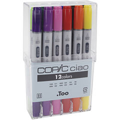 Copic Ciao 12-pc. Marker Set—Basic Colors
