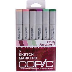 Copic 6-pk. Sketch Markers - Floral Favorites 1
