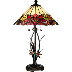 Dale Tiffany™ Floral Table Lamp