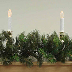 9 Ft. Unlit Royal Oregon Long Needle Artificial Christmas Garland Pine Cones