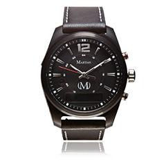 Martian Mens mVoice AE 01 Black Smart Watch-Mvr03ae011