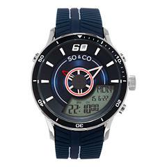So & Co Mens Blue Strap Watch-Jp15517
