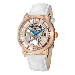 Stuhrling Womens White Strap Watch-Sp12896