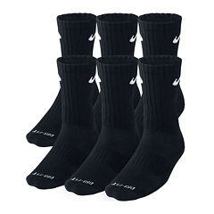 Nike® Mens 6-pk. Dri-FIT Crew Socks