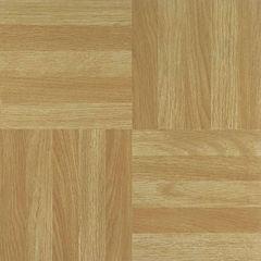 Nexus Four Finger Square Parquet 12x12 Self Adhesive Vinyl Floor Tile - 20 Tiles/20 Sq Ft.