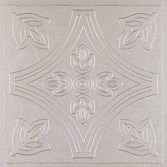 Metallo Silver 4x4 Self Adhesive Vinyl Wall Tile - 24 Tiles/3 Sq Ft.