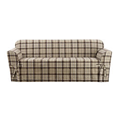 SURE FIT® Highland Plaid 1PC Slipcover Sofa