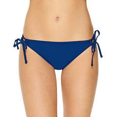Arizona Geo Linear Hipster Swimsuit Bottom-Juniors