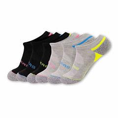 Skechers 6-pc. Low Cut Socks - Womens