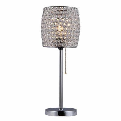 Warehouse Of Tiffany Cleopatra 1 Light Crystal Table Lamp