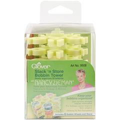 Stack 'n Store Bobbin Tower with Nancy Zieman 3 1/2 x 3 3/4