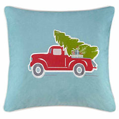 Madison Park Holiday Delivery Square Throw Pillow