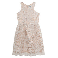 Rare Editions Sleeveless Sheath Dress - Big Kid Girls