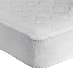 Sealy® Quilted Stain Protection Crib Mattress Pad