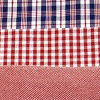 Red Navy Gingham