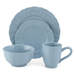 JCPenney Home™ Ashley Scalloped Stoneware 16-pc. Dinnerware Set