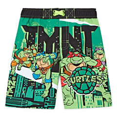 Boys Teenage Mutant Ninja Turtles Swim Trunks-Toddler