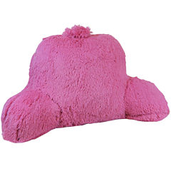 Klear Vu Shaggy Bedrest Pillow with Handle