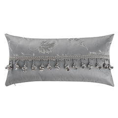 Marquis by Waterford® Samantha Platinum Oblong Decorative Pillow