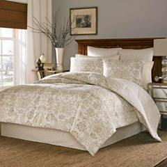 Stone Cottage Belvedere 3-pc. Damask + Scroll Duvet Cover Set