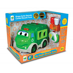 The Learning Journey Remote Control Shape Sorter -Recycle Truck