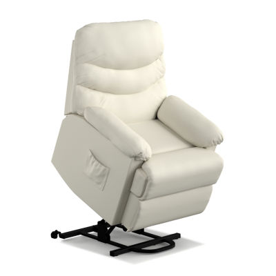 robins bonded leather lift wall hugger recliner - Recliner Lift Chairs