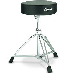 Pacific 800 Series Medium-Weight Standard Drum Throne with Black Rubber Tips