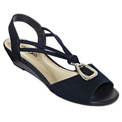 east 5th Reid Womens Wedge Sandals
