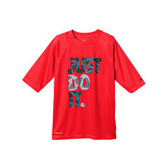 Nike Boys Rash Guard-Big Kid