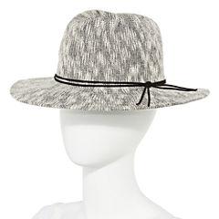Studio 36 Slubby Knit Panama Hat