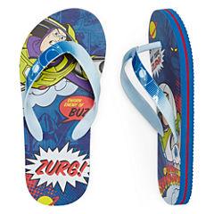 Disney Collection Toy Story Flip Flops - Boys